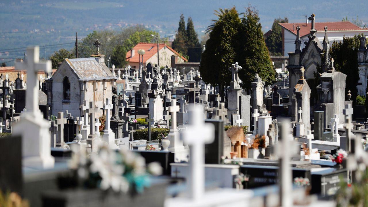 Vista del cementerio municipal de El Salvador de Oviedo