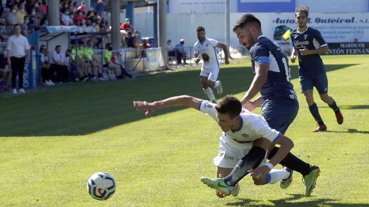 Partido entre el Boiro y el Lemos, de la fase de ascenso a Tercera.Los boiristas llegan en buena dinámica tras vencer al Lemos el pasado fin de semana
