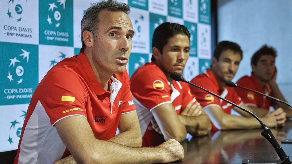 Álex Corretja, extenista y exseleccionador español de Copa Davis