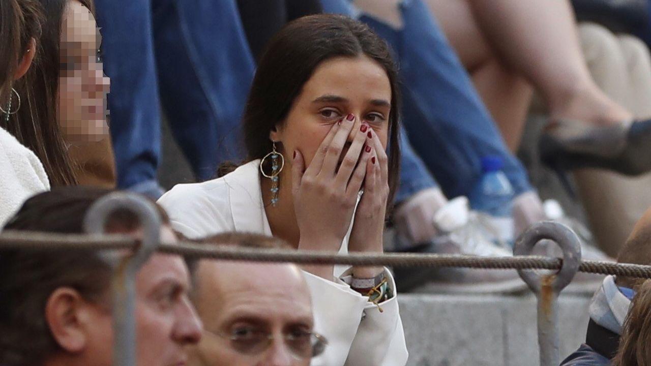 Froilán y Victoria Federica, grandes apoyos de Gonzalo Caballero.Las reinas Letizia y Sofía en Mallorca junto a la Infanta Sofía