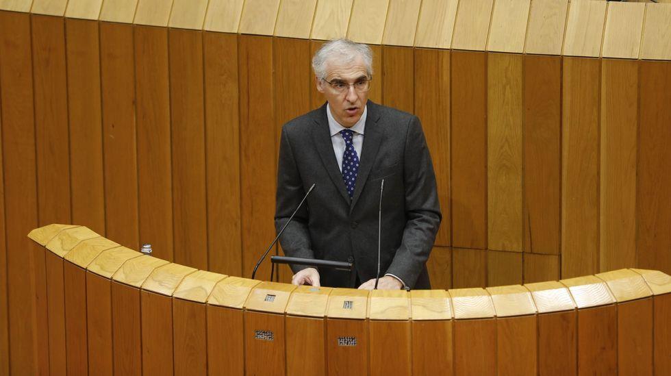 El conselleiro Francisco Conde