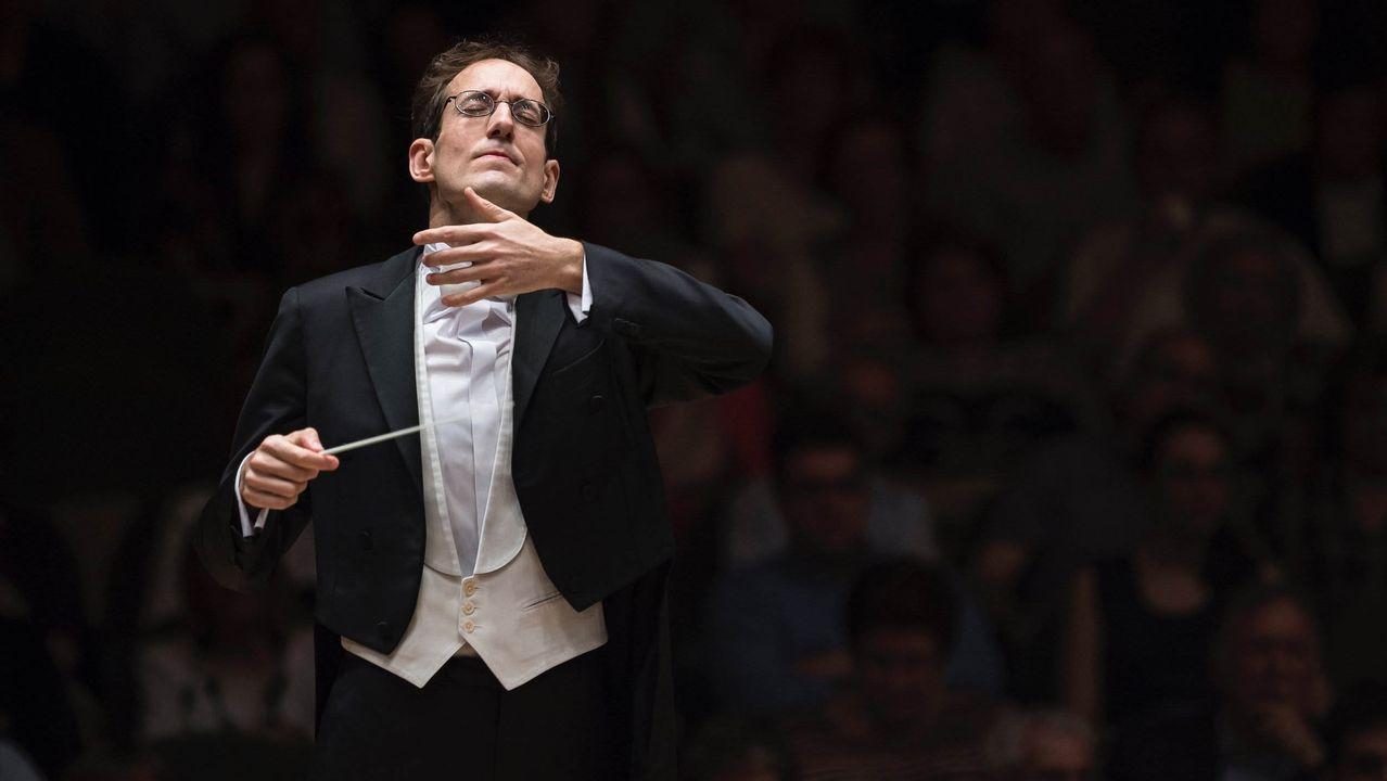 La orquesta lleva toda una semana de ensayos para preparar los dos programas