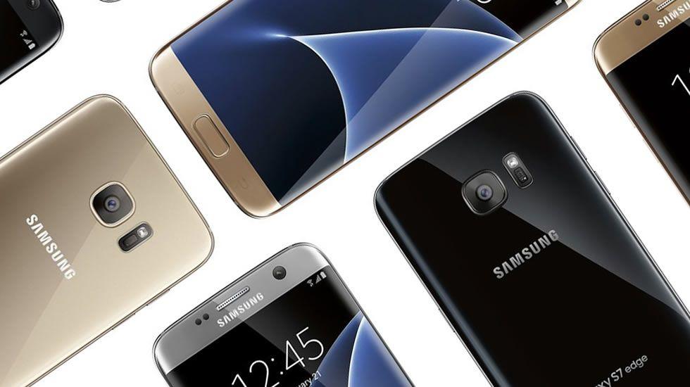 Así serán los nuevos Galaxy S7 y S7 Edge.Uno de los productos estrella del congreso ha sido el esperado Samsung Galaxy S7