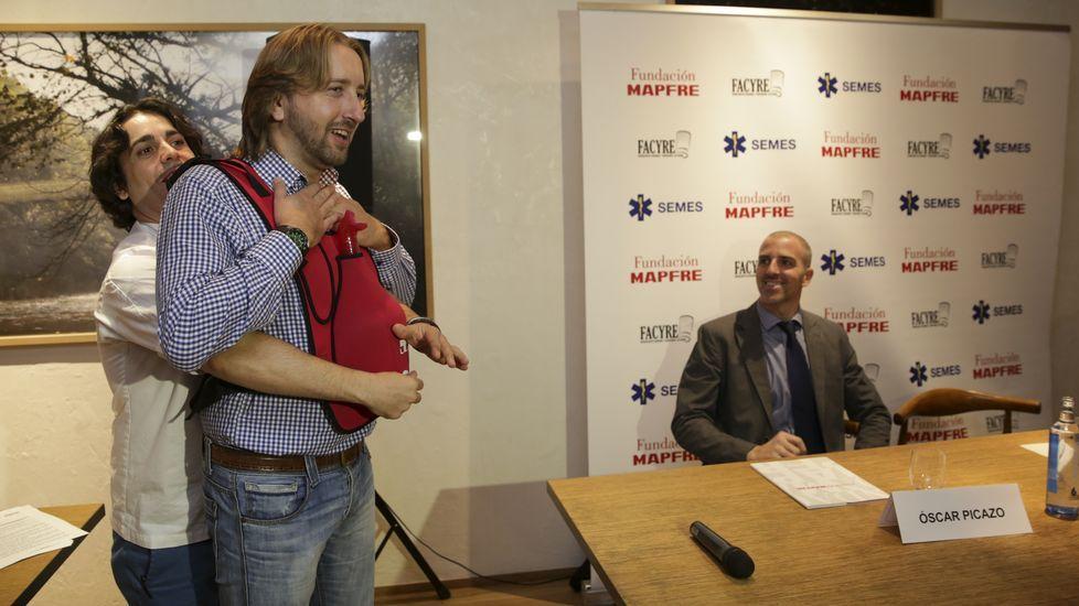 Fundación Mapfre y el chef gallego Luis Veira presentan la campaña «SOS Respira», para prevenir las muertes por atragantamiento