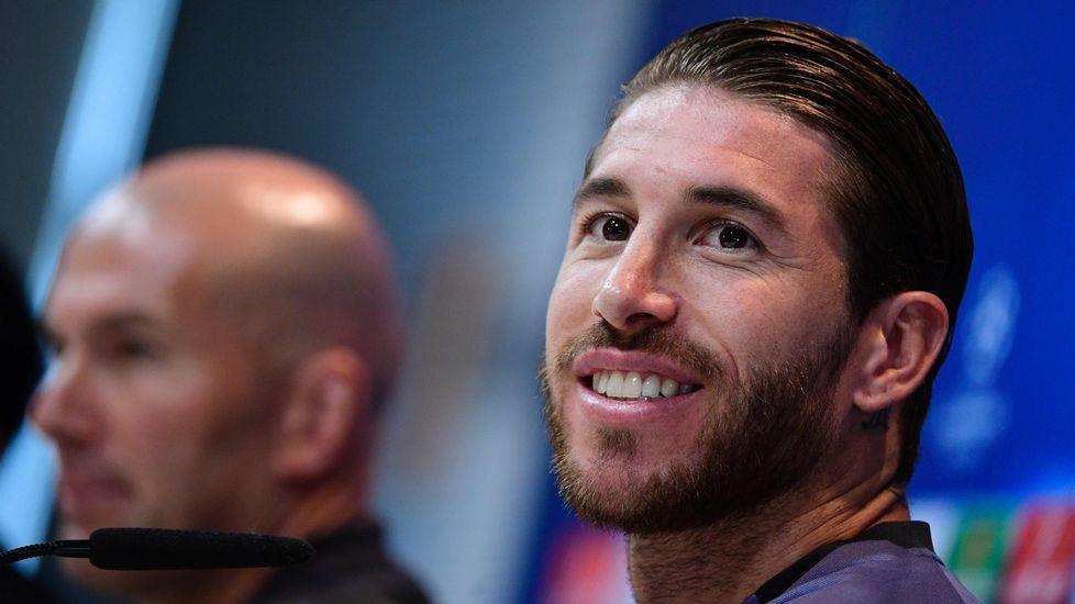 Sergio Ramos: «Parece que nos hemos criado en Beverly Hills, aquí también hay gente de barrio».El futbolista Gerard Piqué, en una imagen de archivo