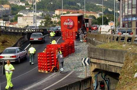 El tráfico no se normalizó hasta dos horas más tarde de producirse el accidente.