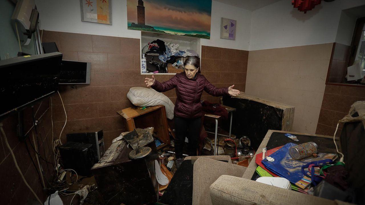 Rescate in extremis en una casa de Cambre.David M.E., de 27 años, ha sido enviado a prisión