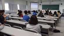 Imagen de una clase presencial en la Universidade de Vigo el pasado mes de septiembre