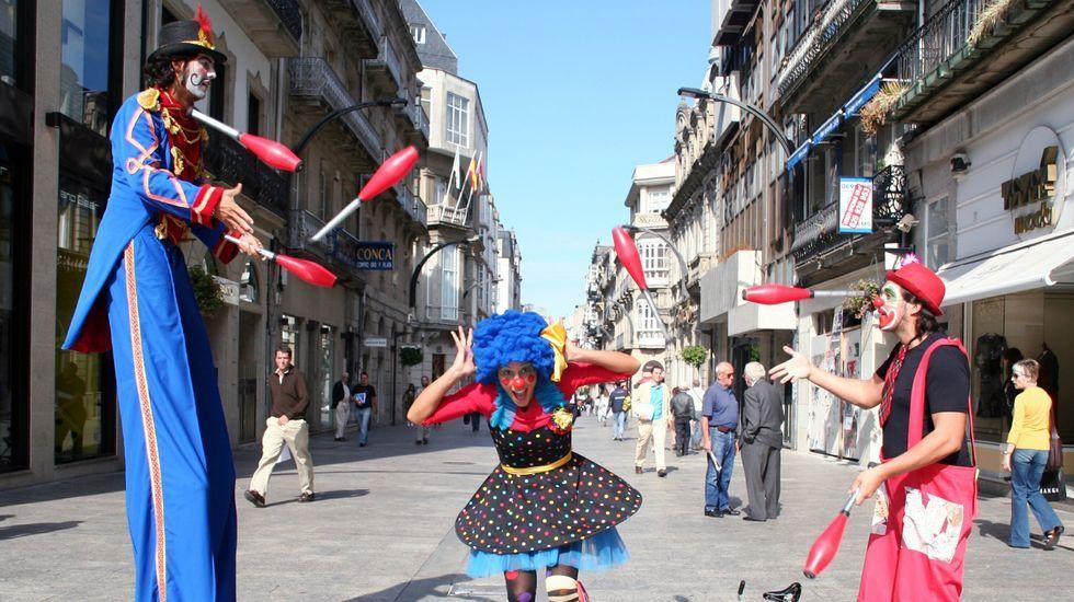 Troula Animación actuará por las calles de Lugo