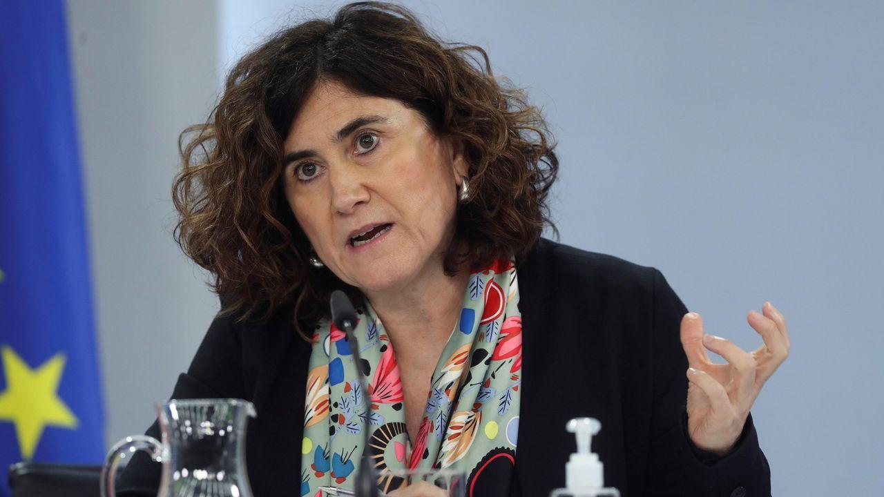 María José Sierra del Centro de Coordinación de Alertas y Emergencias Sanitarias