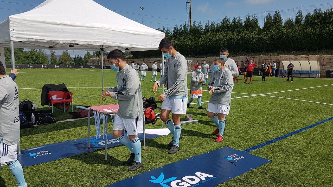 La participación del Celta Integra en el Torneo Federación Galego de Deporte Adaptado, en imágenes