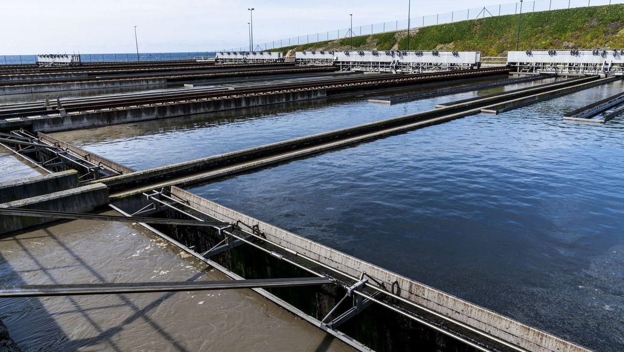 Estación depuradora de aguas de Bens (A Coruña)