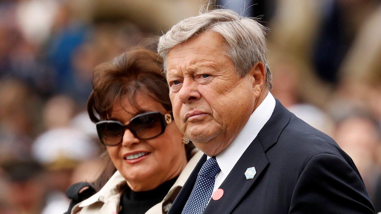 Amalija y Viktor Knavs, padres de Melania Trump