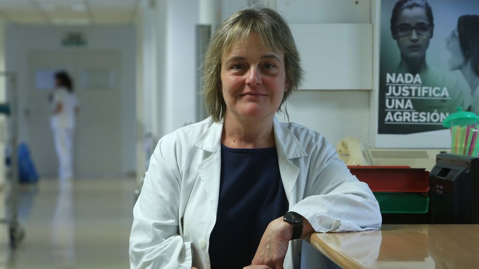 Esther Álvarez es la jefa de Obstetricia del CHUO