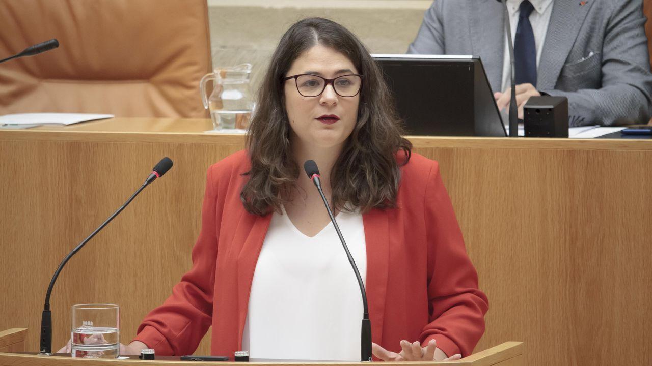 La diputada de Podemos-Equo, Raquel Romero