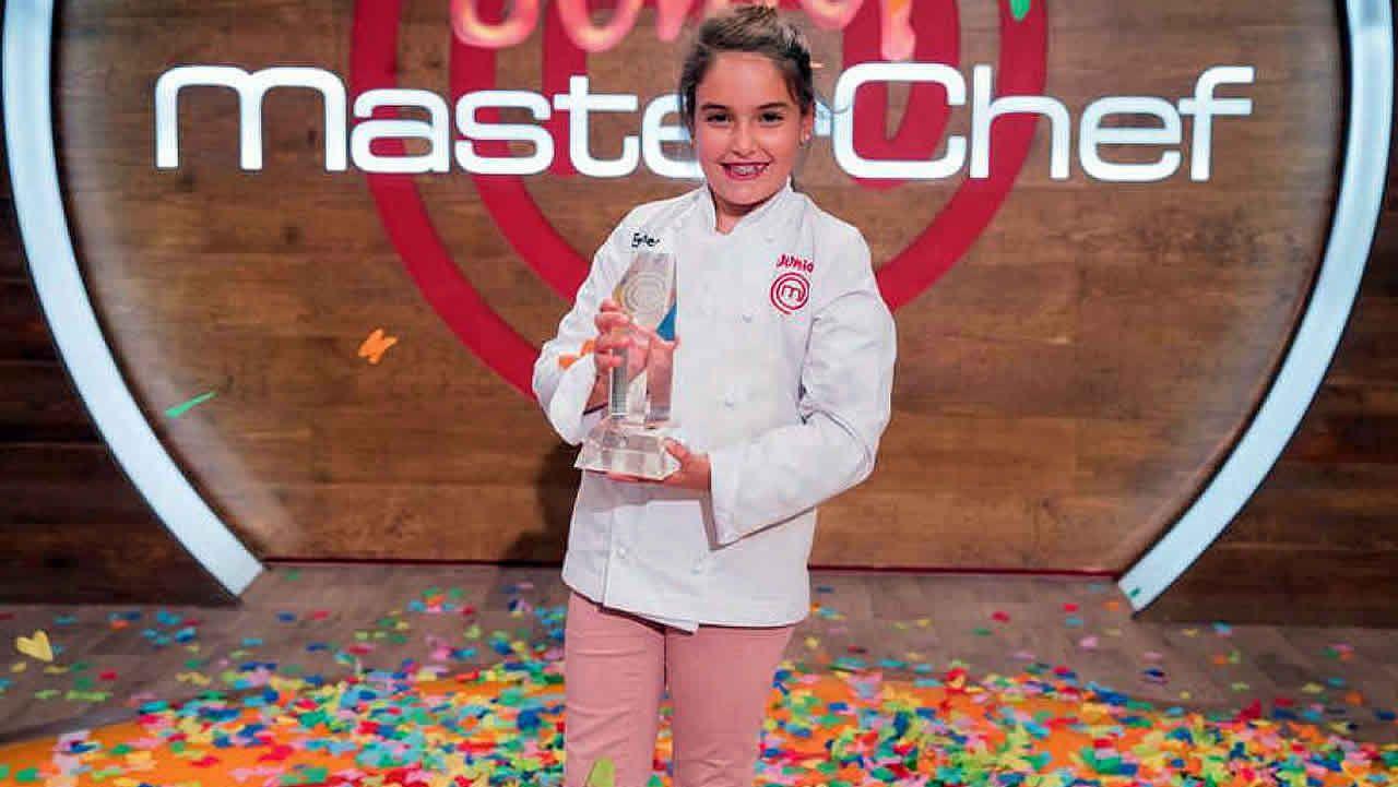 Esther, ganadora de MasterChef Junior