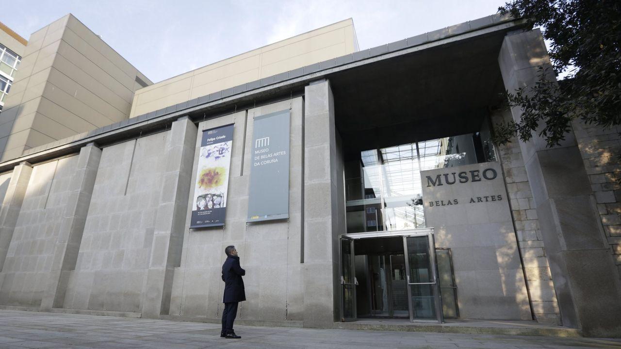 Museo de Belas Artes, en A Coruña
