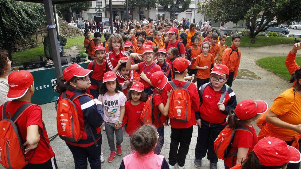 Unos 1.200 estudiantes de dieciocho colegios e institutos del sur de Lugo participarn en esta cuarta caminata por el Camino de Invierno