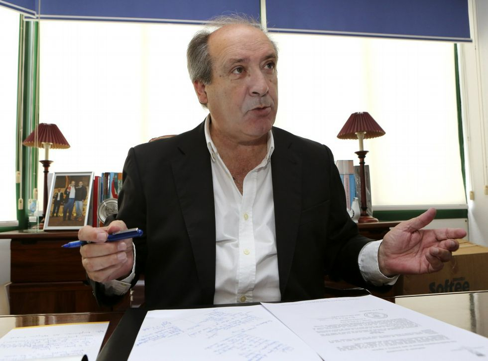 José García Liñares sospecha que Louzán trata de arrebatarle apoyos, pero cree que le llegarán.