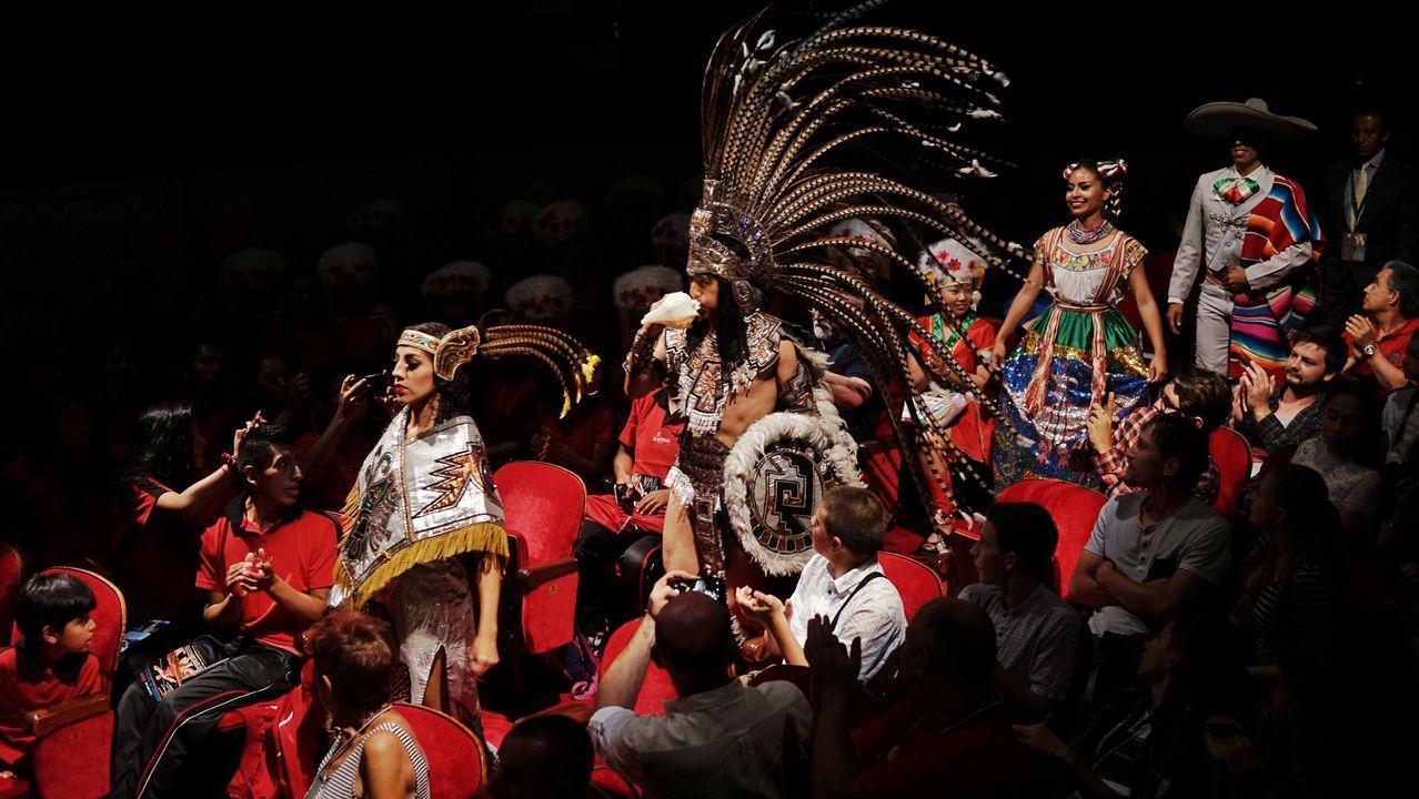 Continúa la tragedia en el Amazonas con un millón de hectáreas quemadas.El presidente de Bolivia, Evo Morales, durante un acto el pasado día 23 en Tarata