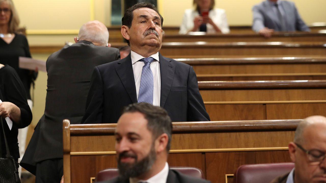 El general retirado y diputado por VOX, Manuel Mestre