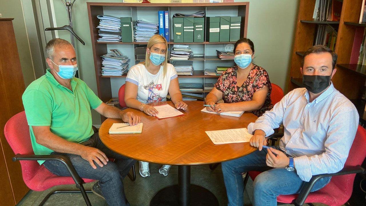 Reunión del Gobierno asturiano y el Ayuntamiento de Cangas del Narcea