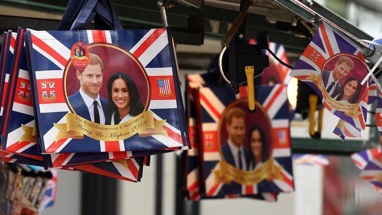 Cuenta atrás para el enlace entre el príncipe Harry y Meghan