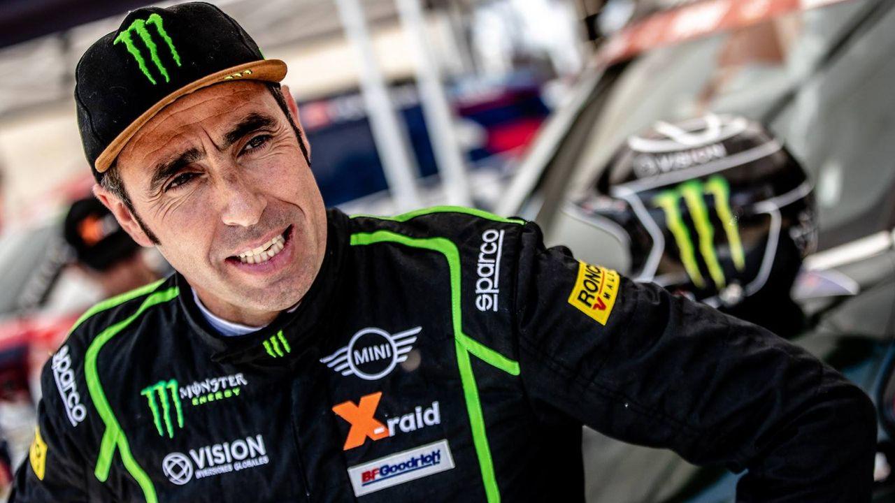 Fernando Alonso, Toyota, Rallye Marruecos.Nani Roma, durante la última edición del Dakar