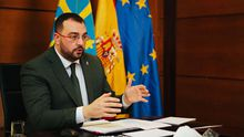 Adrián Barbón participa de forma telemática en los Encuentros del Eo
