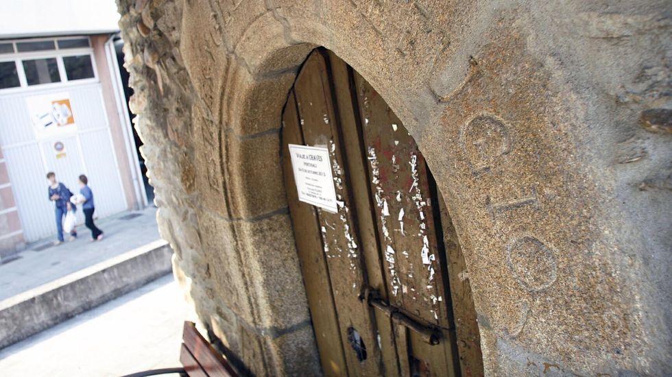 Las obras se desarollarán en la acera situada del otro lado de la capilla