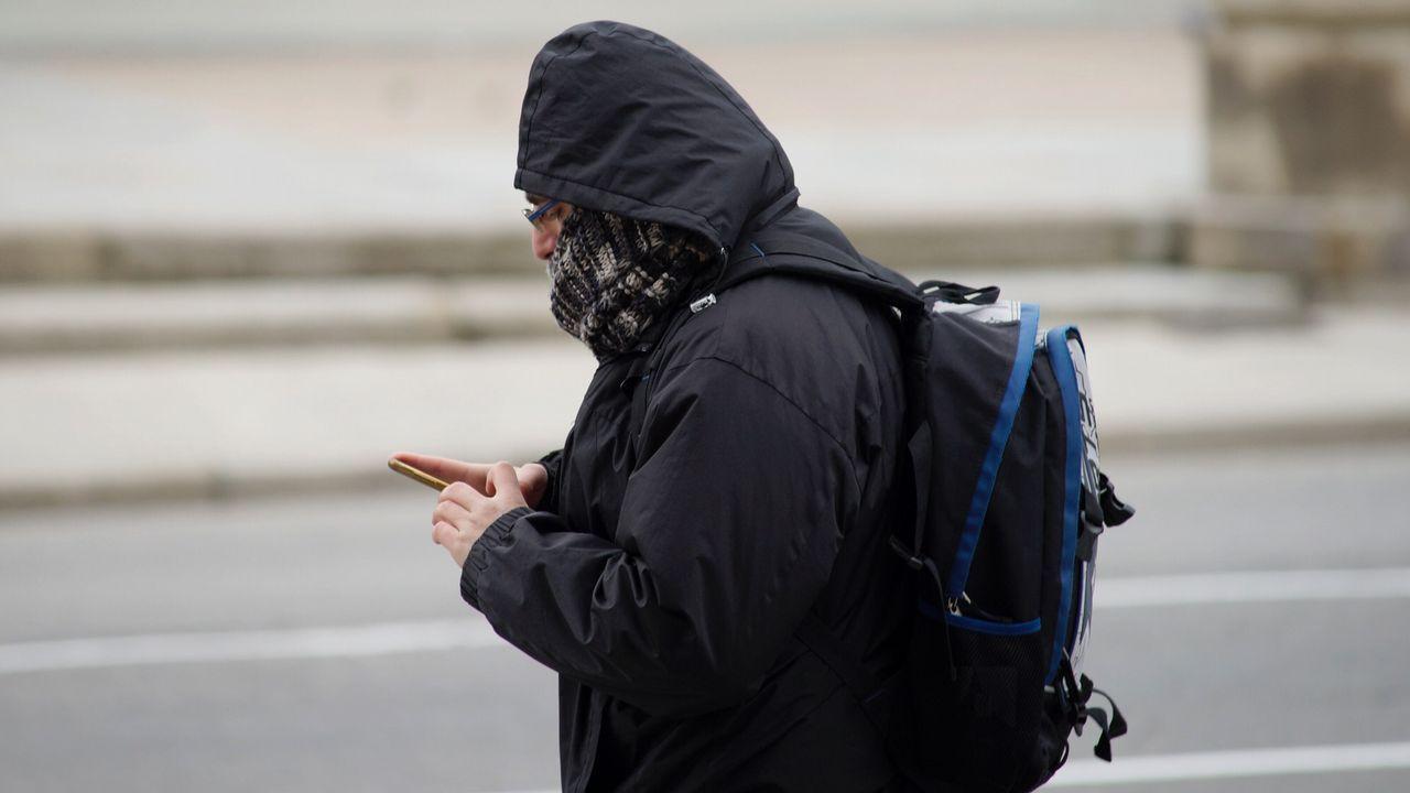 Temperaturas que rondan los 3 grados en Ourense