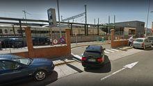 Parking de la estación de tren de León