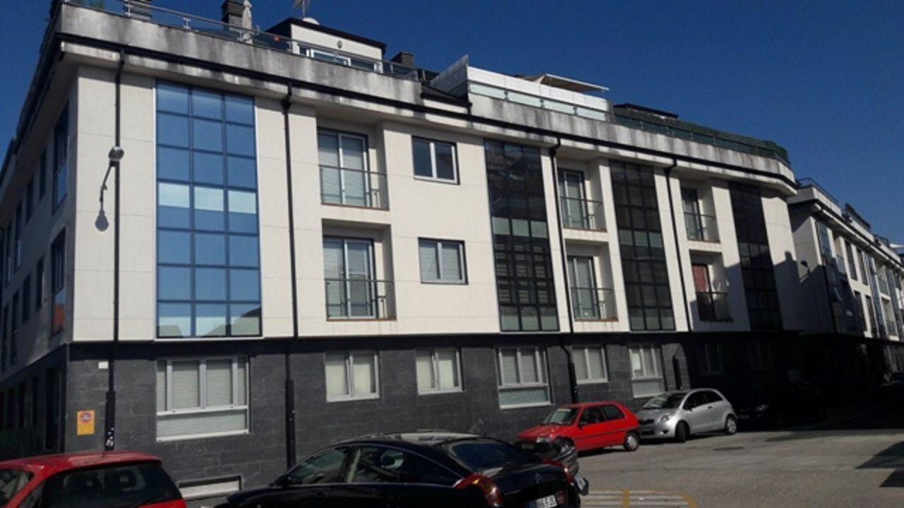 Urbanización Hábitat, en Ares, donde se han vendido apartamentos con dos dormitorios, garaje y trastero por 46.000 euros