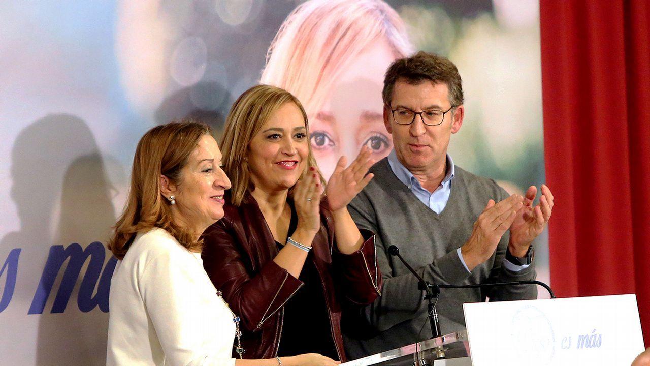 Mercedes Fernández y Pablo Casado