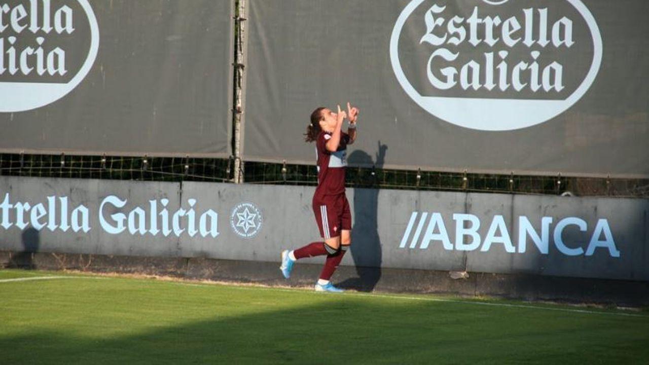 El Porto B-Celta B, en imágenes