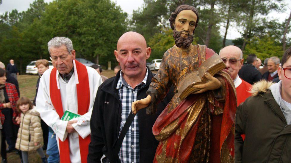 La romería chantadina de San Lucas, en fotos