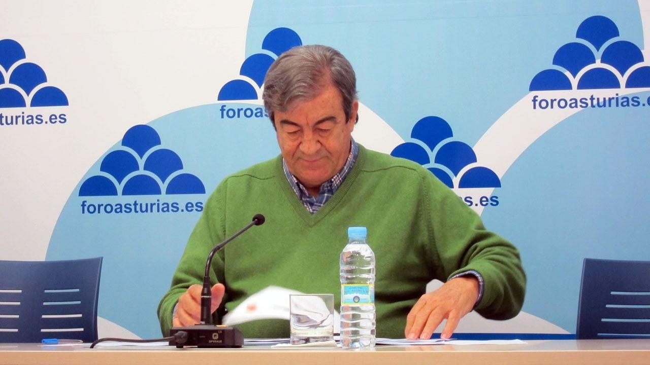 Isidro Martínez Oblanca.Francisco Álvarez-Cascos