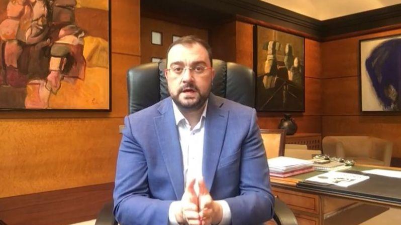 Mensaje de Adrián Barbón tras el estado de alarma.Junta local de seguridad en el Concello de Pontevedra