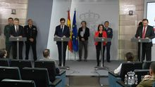 En directo: comparecen cuatro ministros desde Moncloa