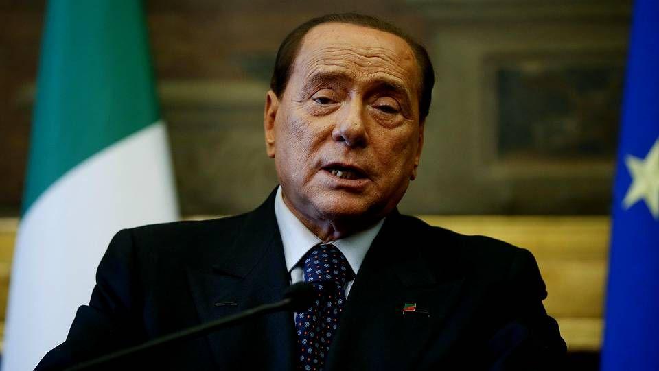 El ex primer ministro de Italia, Silvio Berlusconi