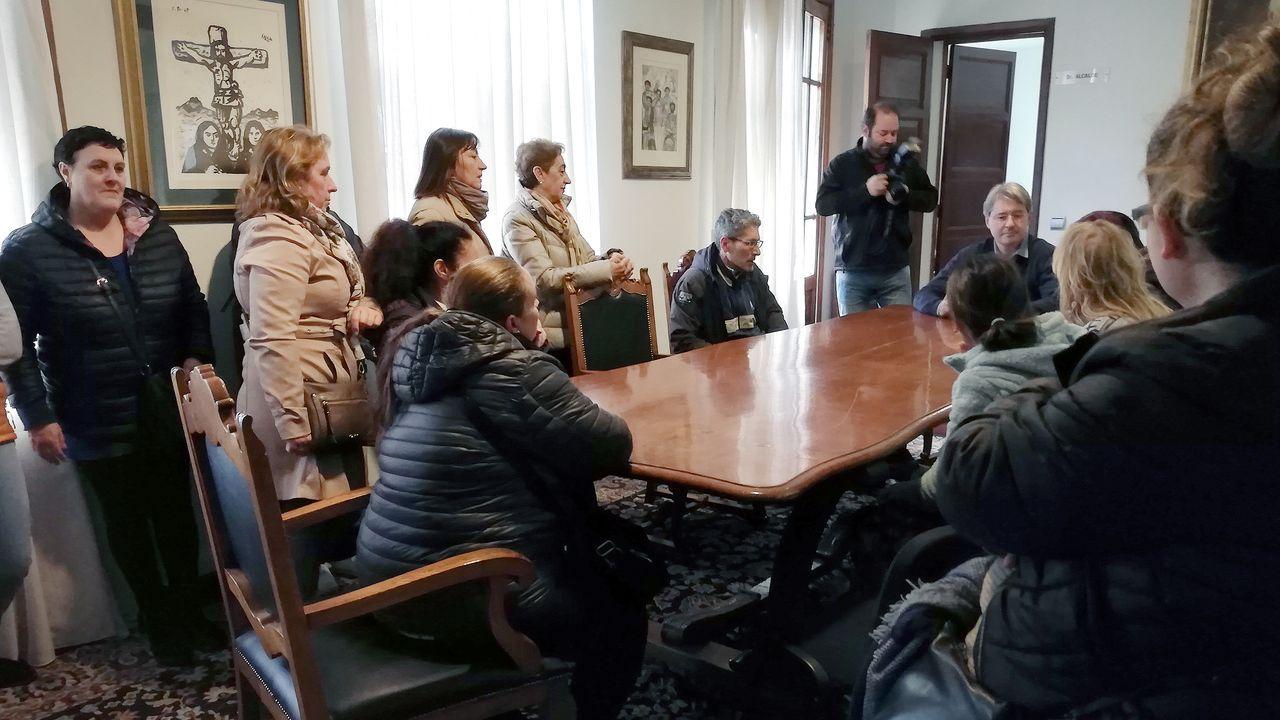 Espazos baleiros no Día das Letras.Acto de homenaxe a Alexandre Bóveda en Ourense