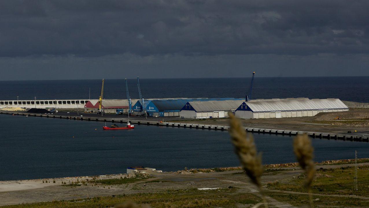 Imagen del puerto exterior de A Coruña.