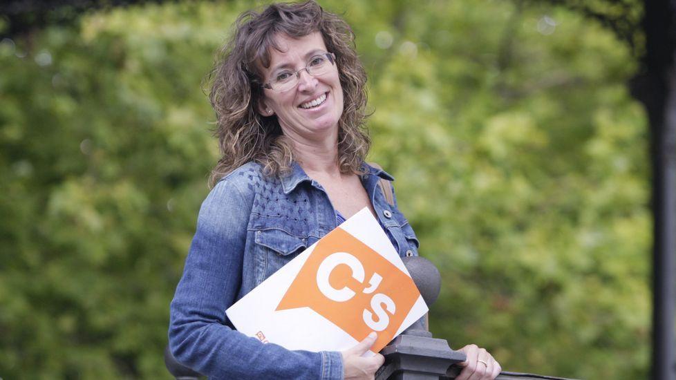 Ana Rodríguez Masafret es la coordinadora de Ciudadanos en Ferrol y había sido elegida como cabeza de lista