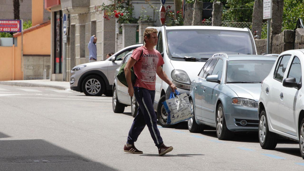 Marea y BNG, unidos en su protesta contra el grupo mixto en el pleno de Vigo.Jurguen, alias el Alemán, fue detenido esta mañana en la puerta de su vivienda