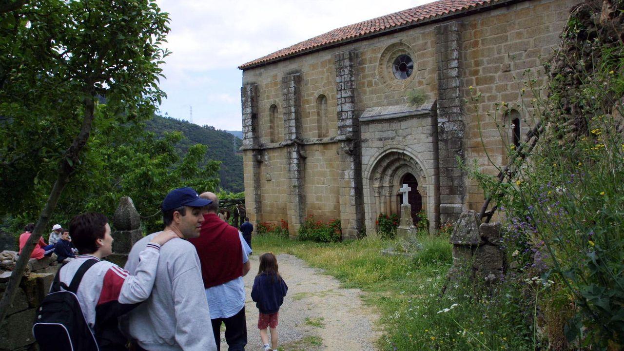 La iglesia de Pombeiro ocupa un lugar destacado en el patrimonio románico de Pantón y de toda la Ribeira Sacra