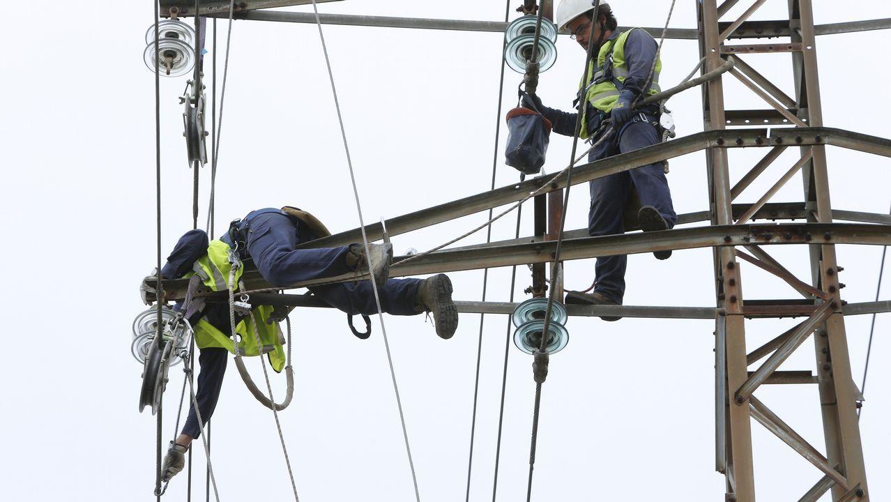 Retiran las torres del parque de Visma tras ocho meses abierto