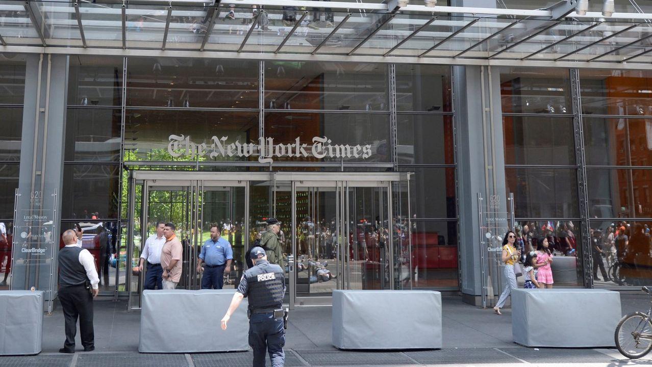 Sede del periodico «The New York Times»