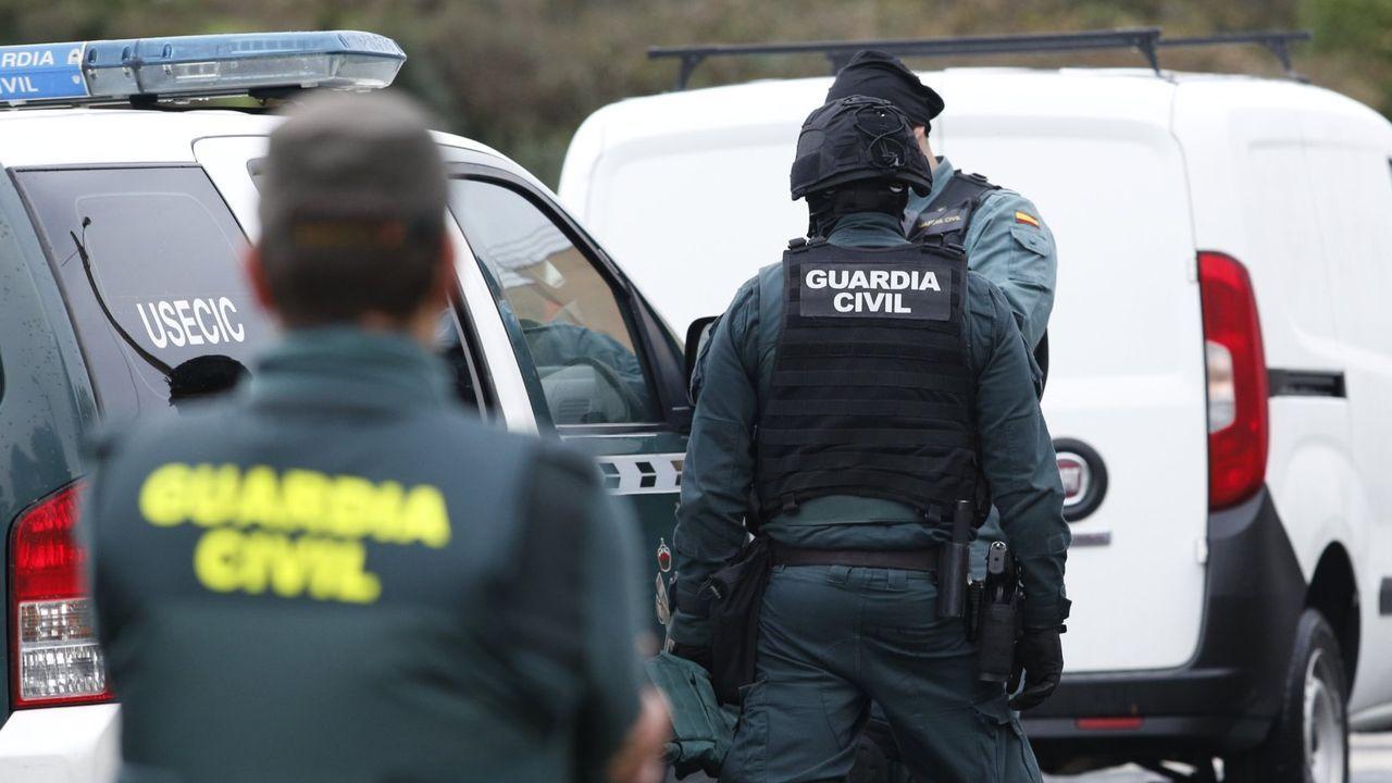 Imagen de archivo de una operación de la Guardia Civil