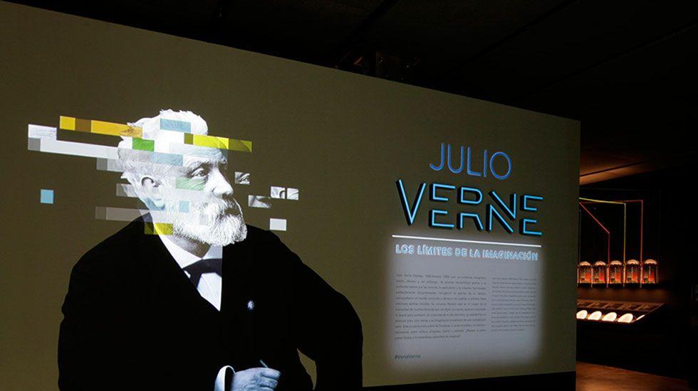 «Julio Verne: los límites de la imaginación», en el Centro Niemeyer.Elena de Lorenzo