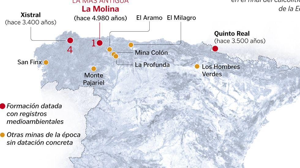 Las minas más antiguas de España